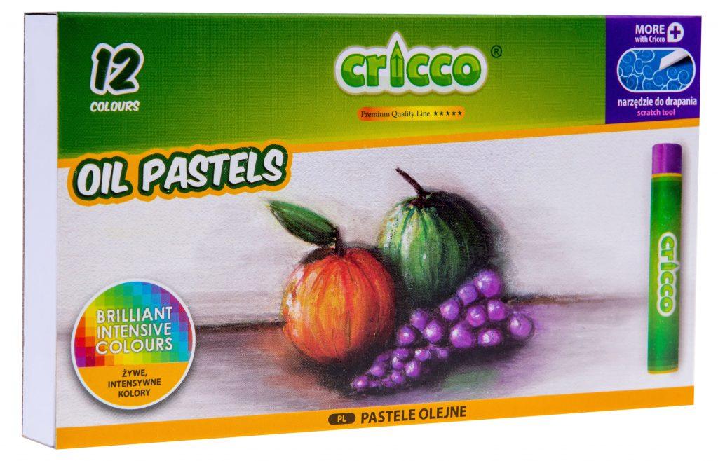 Pastele olejne Cricco 12 kolorów