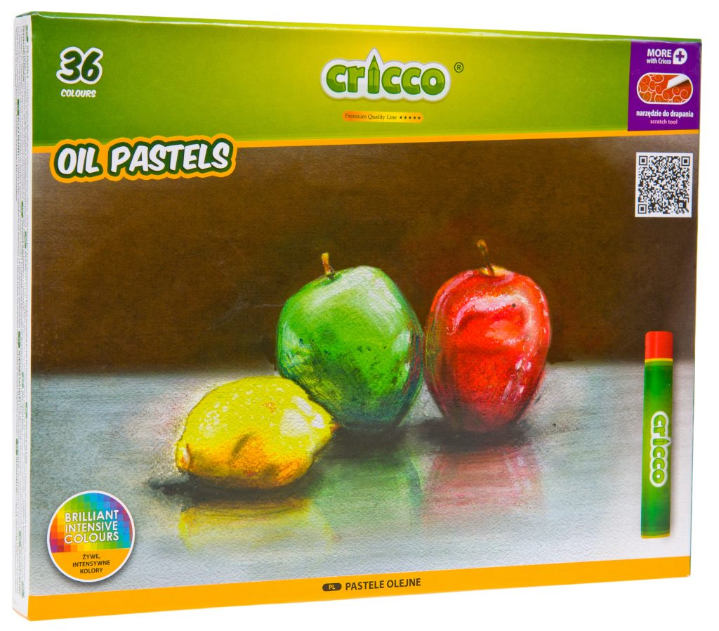 Pastele olejne Cricco 36 kolory
