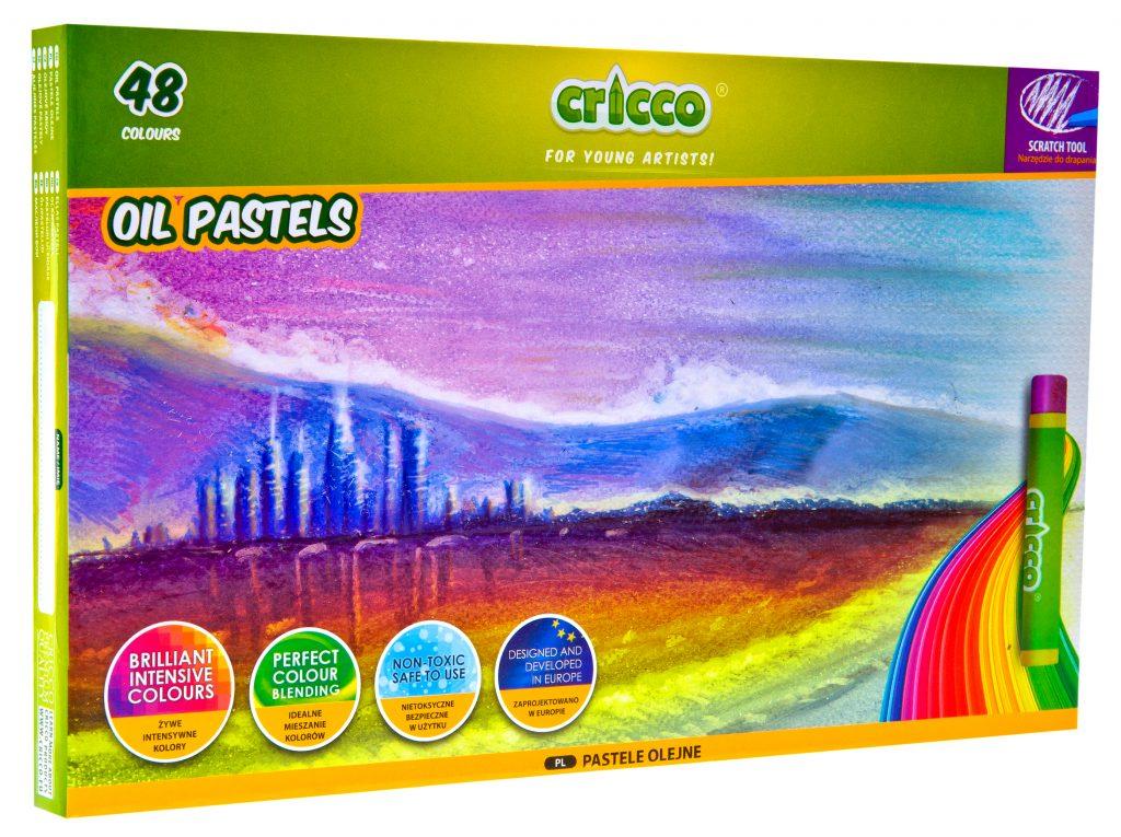 Pastele olejne Cricco 48 kolorów
