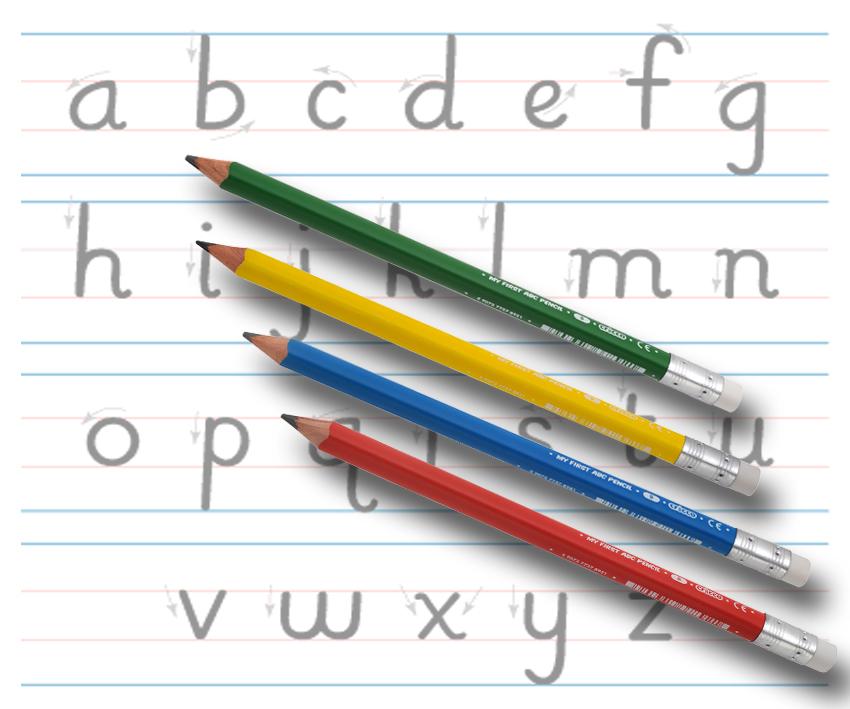 Ołówek Moje Pierwsze ABC Cricco