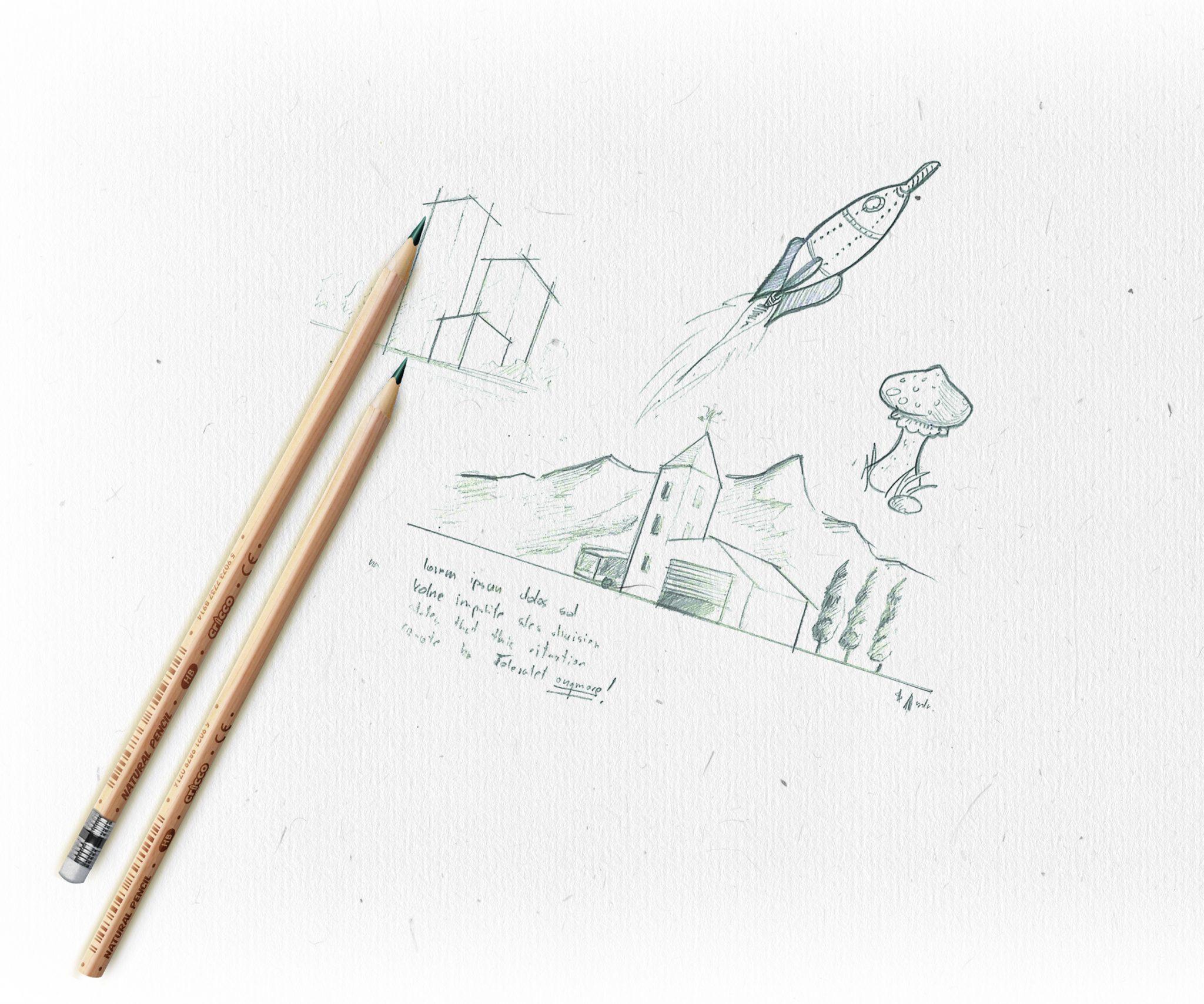 Ołówek Natura HB Cricco